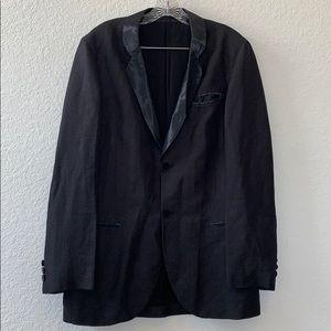 Emporio Armani Black Men Blazer